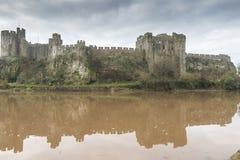 Pembroke Castle, Pembrokeshire, Wales stock images
