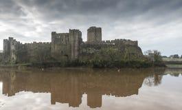 Pembroke Castle, Pembrokeshire, Wales royalty free stock images