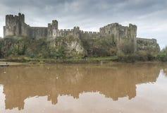 Pembroke Castle, Pembrokeshire, Wales stock image