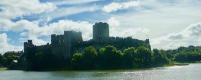 Castle of Pembroke stock images
