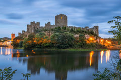 Pembroke Castle in South Wales Royalty Free Stock Images