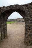 Pembroke Door Royaltyfria Bilder