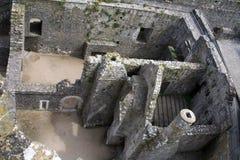 Pembroke Premises. Interior premises of the Pembroke Castle, Wales, UK Stock Photography
