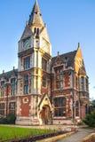 Pembrokecollege, Universität von Cambridge Der innere Hof mit Kirche Lizenzfreie Stockfotos