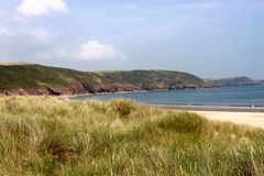 Pembrokeshire beach Stock Images
