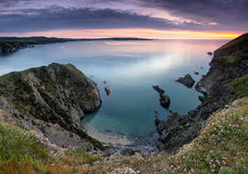 Pembrokeshire Coast Sunset II Royalty Free Stock Image