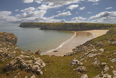 Pembrokeshire-Küste Stockbild