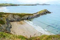 Pembrokeshire Kustweg - Wales, het Verenigd Koninkrijk stock foto's