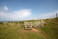 Pembrokeshire linia brzegowa Fotografia Royalty Free
