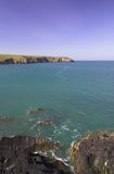 Pembrokeshire sea Royalty Free Stock Image