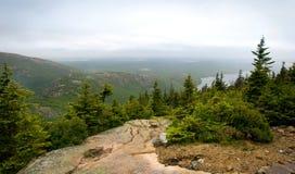 Pemetic Berg im Acadia-Nationalpark Stockfotografie