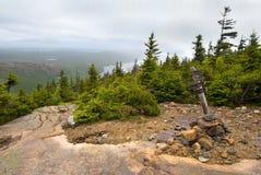 Pemetic Berg im Acadia-Nationalpark Lizenzfreie Stockbilder