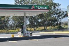 Pemex Benzynowa stacja obrazy royalty free