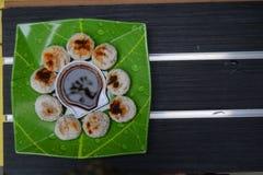 Pempek Panggang Palembang Royaltyfri Bild