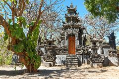 Pemuteran Hinduist Temple in Bali. Hinduist temple in Pemuteran, a small fishing village on the northern coast of West Bali Royalty Free Stock Photo