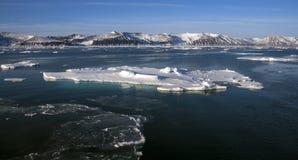 Península antártica - la Antártida Imagen de archivo