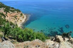 Península Chipre de Akamas fotografia de stock