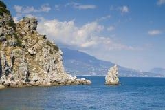 Península Crimeia Fotografia de Stock Royalty Free