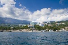 Península Crimeia Imagem de Stock