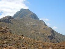 Península de Balos na ilha de crete, Grécia Foto de Stock Royalty Free