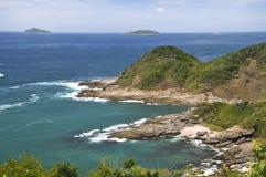 Península de Buzios Fotos de archivo libres de regalías