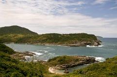 Península de Buzios Foto de archivo libre de regalías