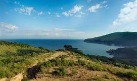 Península de Extremo Oriente rusa para Gamow Hermosa vista del B Imagen de archivo libre de regalías