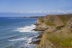 Península de Gower, País de Gales Foto de archivo