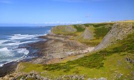 Península de Gower, País de Gales Fotos de archivo libres de regalías