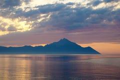 Península de Grecia - de Sithonia Imagen de archivo libre de regalías