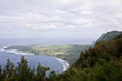 Península de Kalaupapa Imágenes de archivo libres de regalías