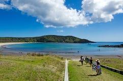 Península de Karikari - Nueva Zelanda Fotos de archivo