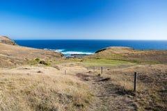 Península de Mornington da praia do monte de pedras Fotografia de Stock