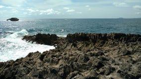 Península de pedra imagens de stock