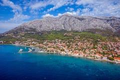Península de Peljesac, Croacia Fotografía de archivo