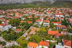 Península de Peljesac, Croacia Imágenes de archivo libres de regalías