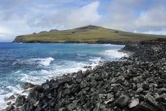 Península de Poike Fotografía de archivo libre de regalías