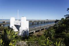 Península de Redcliffe - três pontes Fotos de Stock