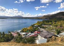 Península de Sevan, Armênia Imagem de Stock