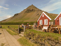Península del oeste de Islandia Fotos de archivo libres de regalías