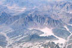 Península del Sinaí de las montañas imagen de archivo libre de regalías
