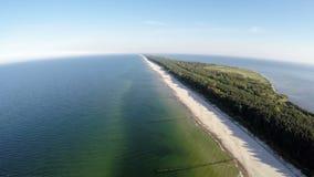 A península dos Hel, vista aérea filme