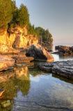 Península dourada de Bruce do Lit imagens de stock royalty free