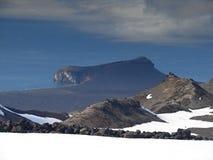 Península Eggoya, isla de enero Mayen foto de archivo libre de regalías