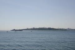 Península histórica de Uskudar Bosphorus Fotografia de Stock