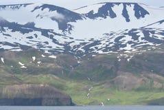 Península Islandia de Flateyjarskagi Fotos de archivo libres de regalías