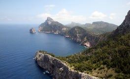 Península Mallorca de Formentor, Espanha Imagem de Stock