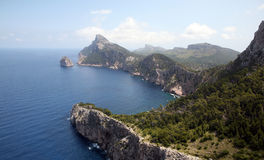 Península Mallorca, España de Formentor Imagen de archivo