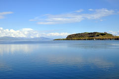 Península no lago Sevan Fotografia de Stock Royalty Free