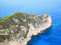 Península pequena - vista aérea Foto de Stock Royalty Free